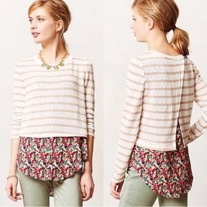 Anthropologie Postmark Ginny pullover small